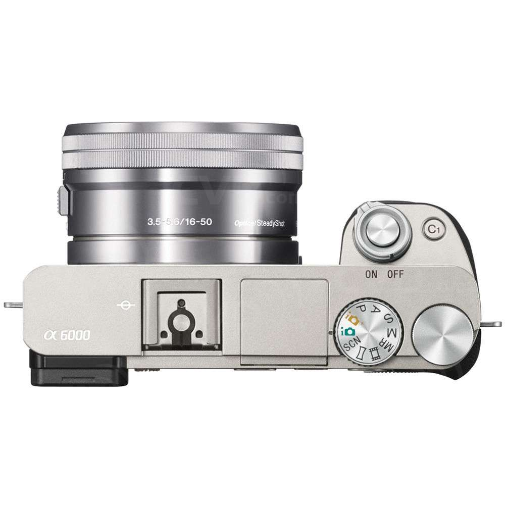 Sony (ILCE6000LS.CEC) Alpha A6000 Digital Camera with 16-50mm f/3.5-5.6 Power