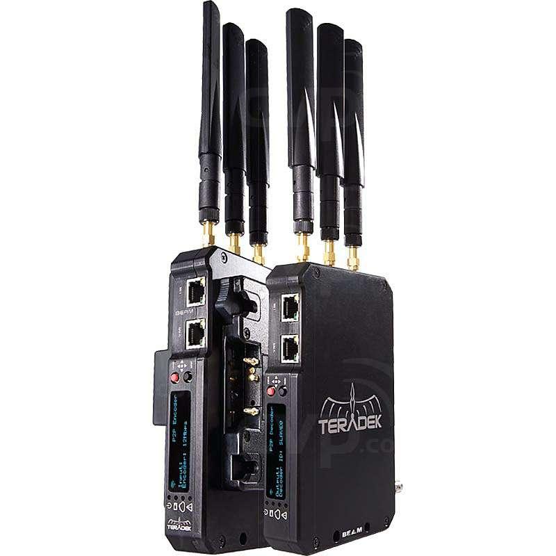 Teradek BEAM HD-SDI Encoder  Decoder Pair V-Mount (TER-BEAM-571)