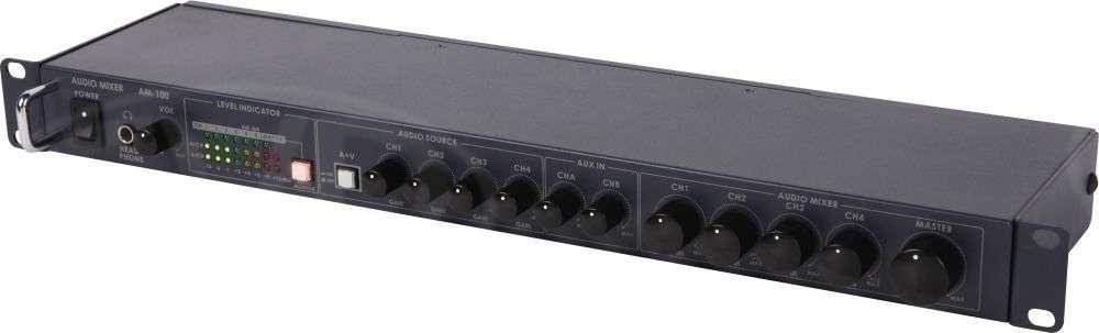 Datavideo DATA-AM100 (DATAAM100) AM-100 8 Way XLR Audio Mixer