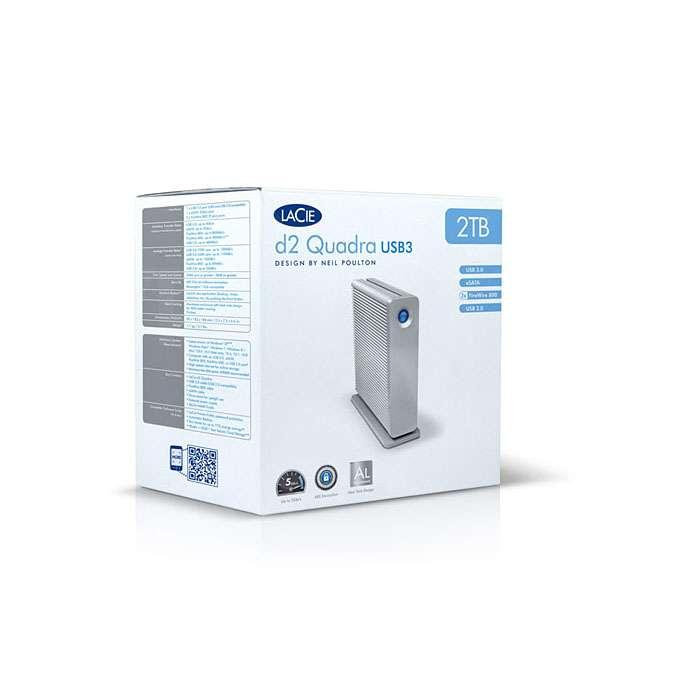 Lacie d2 Quadra USB 3.0 - eSATA 3Gbits & FireWire