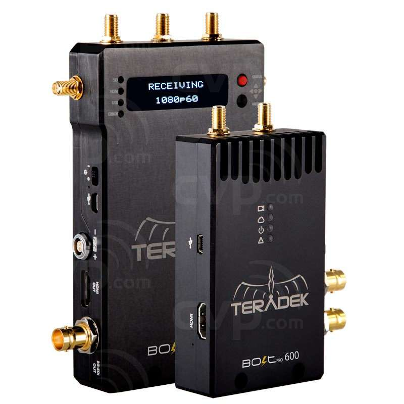 Teradek Bolt Pro 600 Transmitter - uncompressed wireless HD video