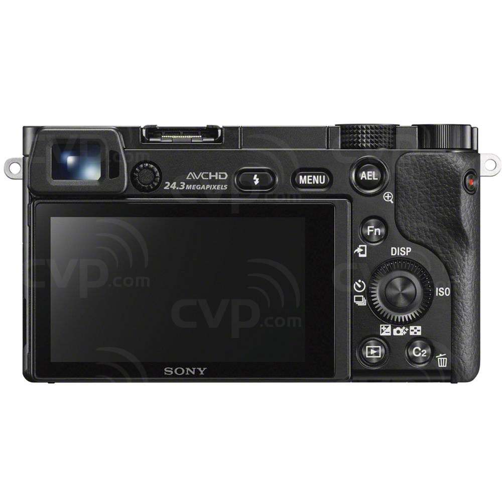 Sony (ILCE6000LB.CEC) Alpha A6000 Digital Camera with 16-50mm f/3.5-5.6 Power