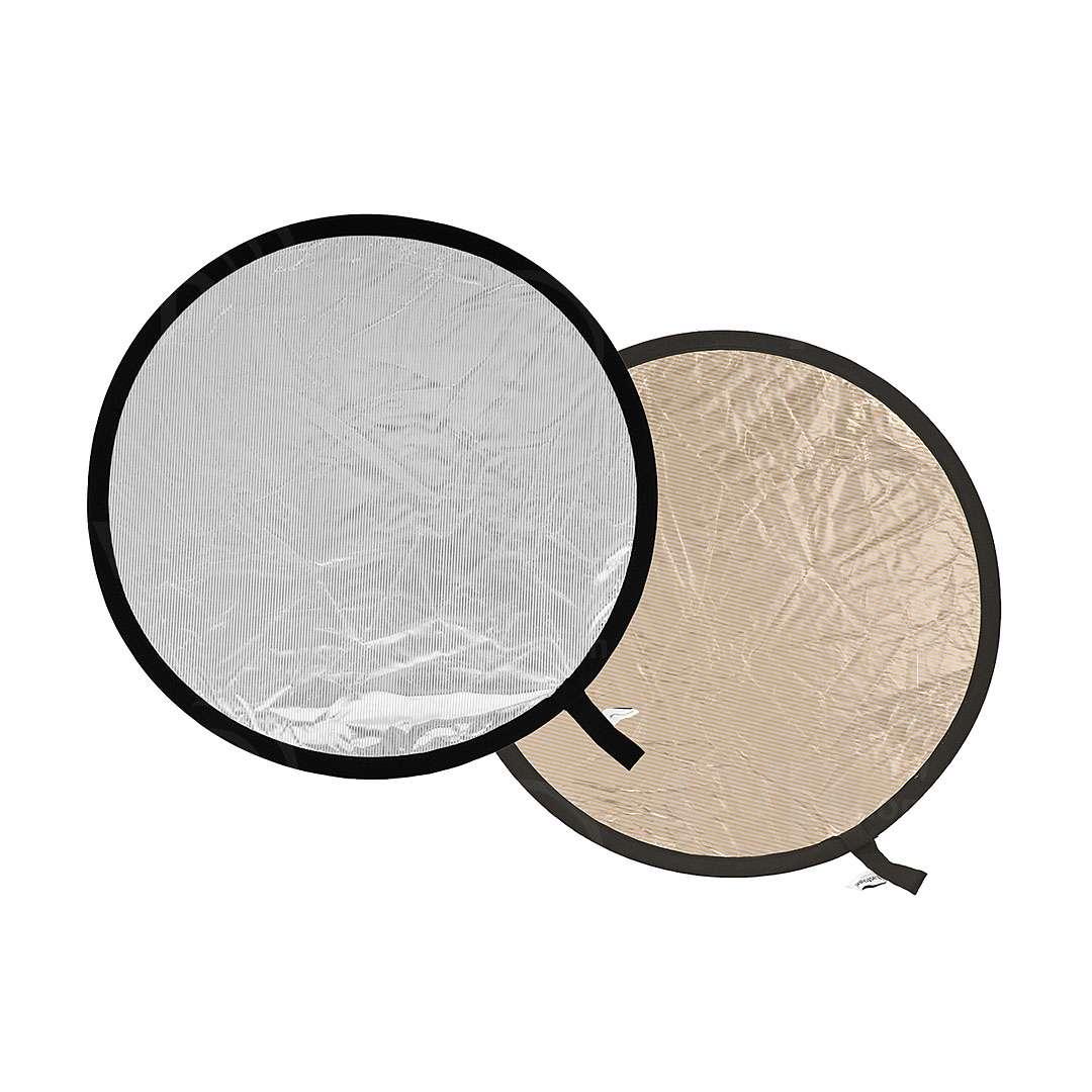 Lastolite (3028) 75cm Collapsible Reflector Sunlite/Soft Silver