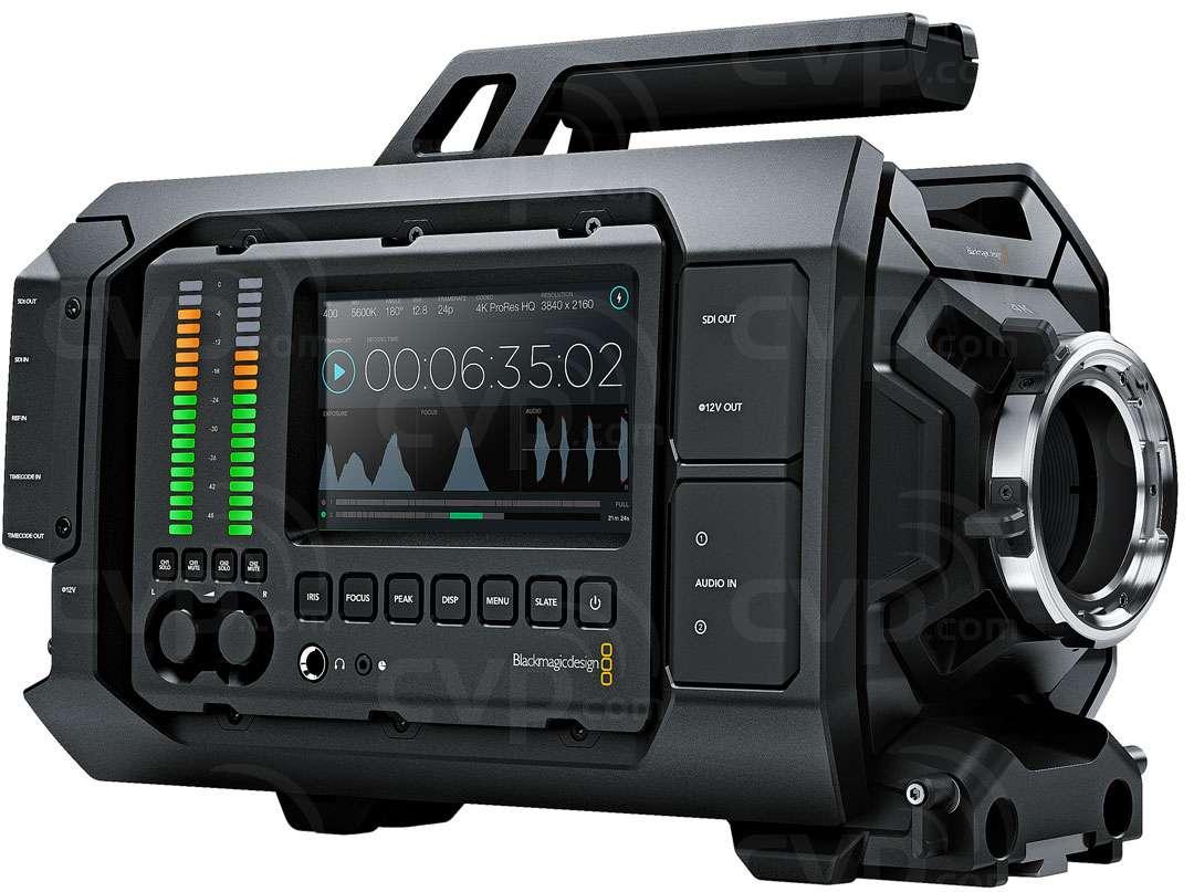 Blackmagic URSA PL Mount 4K Camera with a Super 35