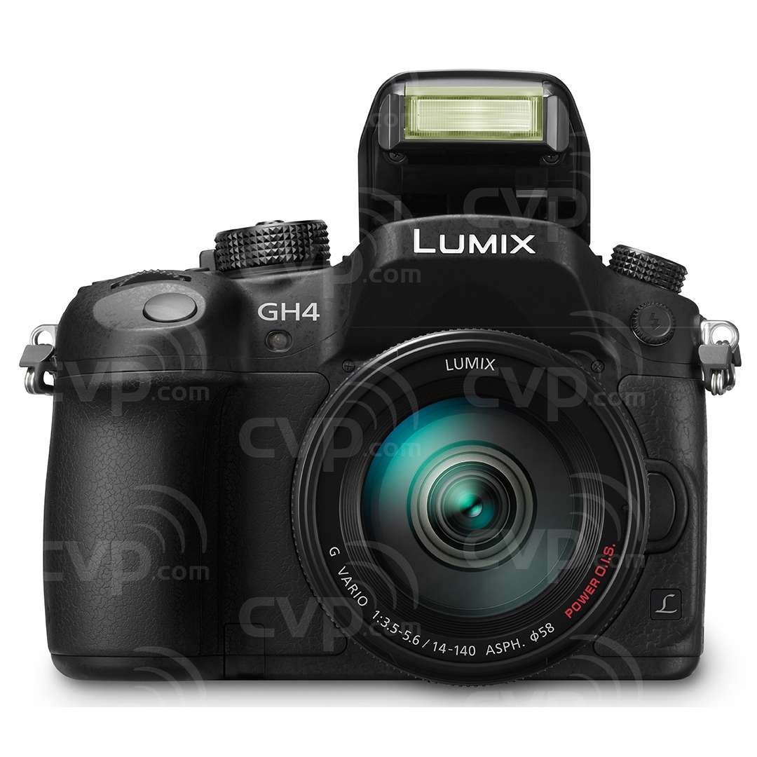 Panasonic  DMC-GH4 (DMCGH4) 16MP Compact System Camera with a