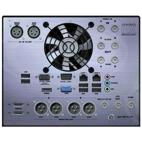 Ex-Demo Cinedeck RX Broadcast Kit - (1/2 Rack 4RU) Rack