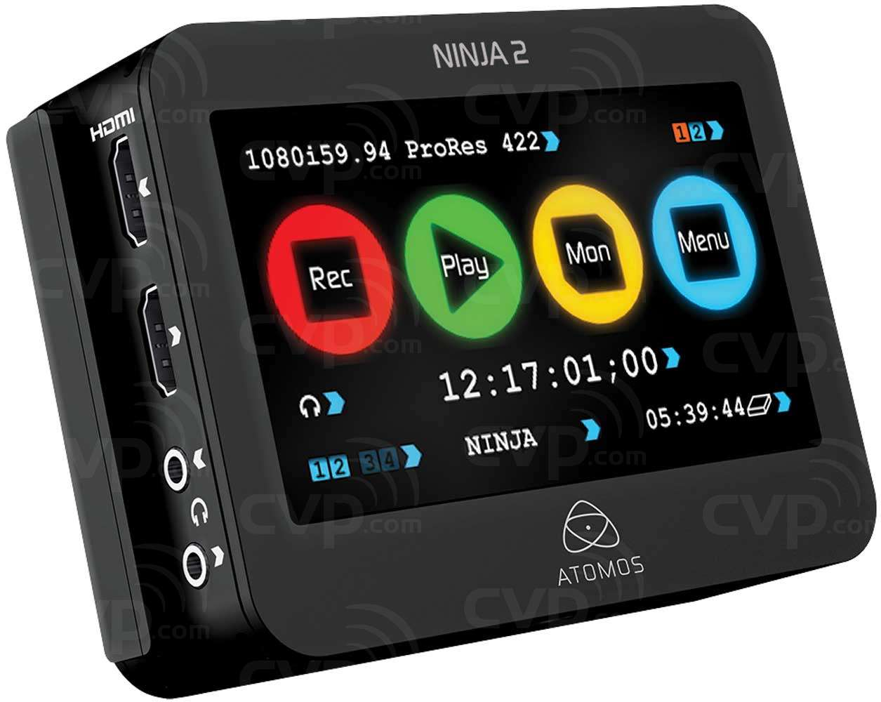 Atomos Ninja2 10-bit HDMI to ProRes Recorder, Monitor and Playback