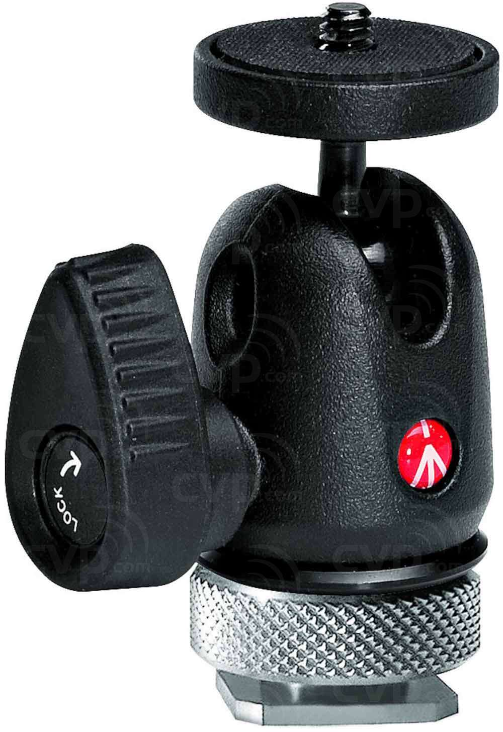 Manfrotto 492LCD (492-LCD) Micro ball head with hot shoe mount