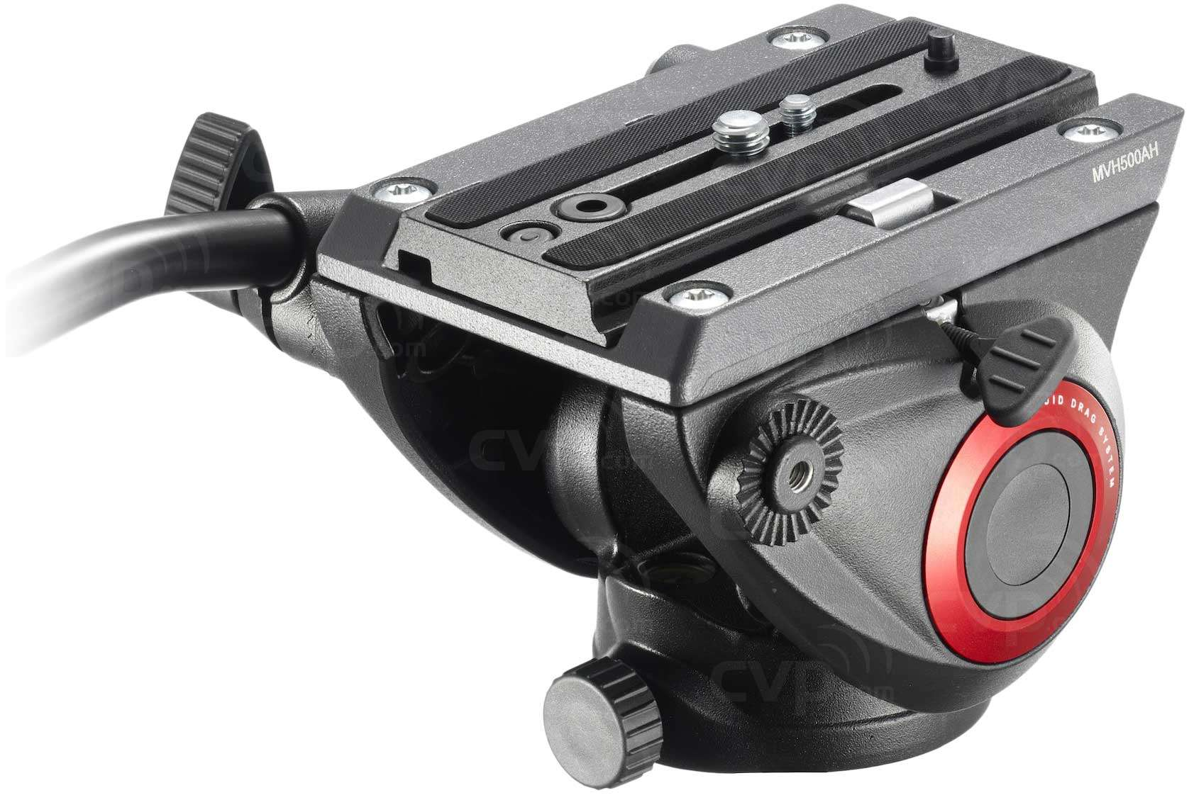Manfrotto MVH500AH (MVH500AH) Lightweight Fluid Video Head Flat Base (5KG