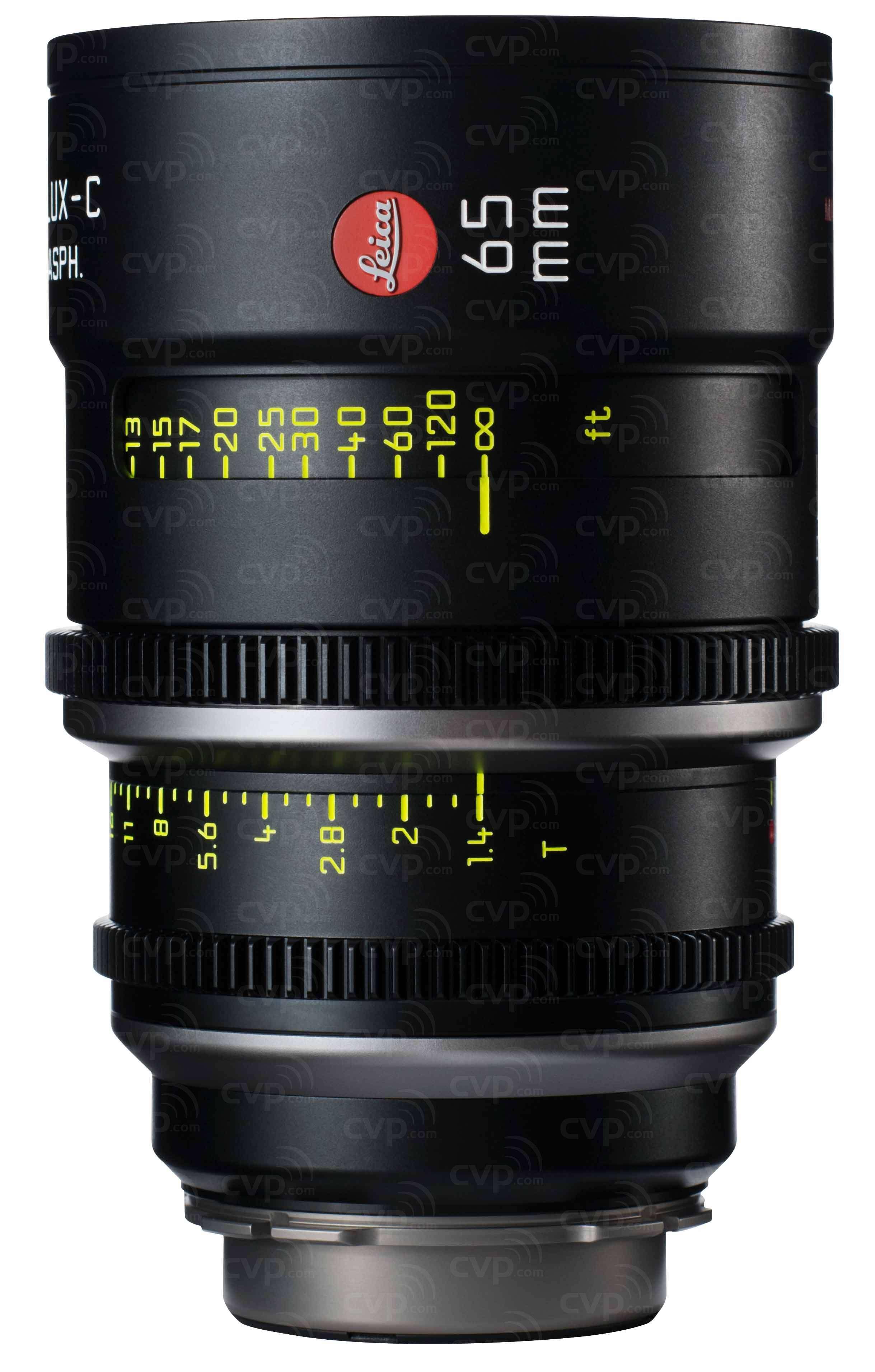 Leica 65mm T1.4 Summilux-C Cine Lens - PL Mount