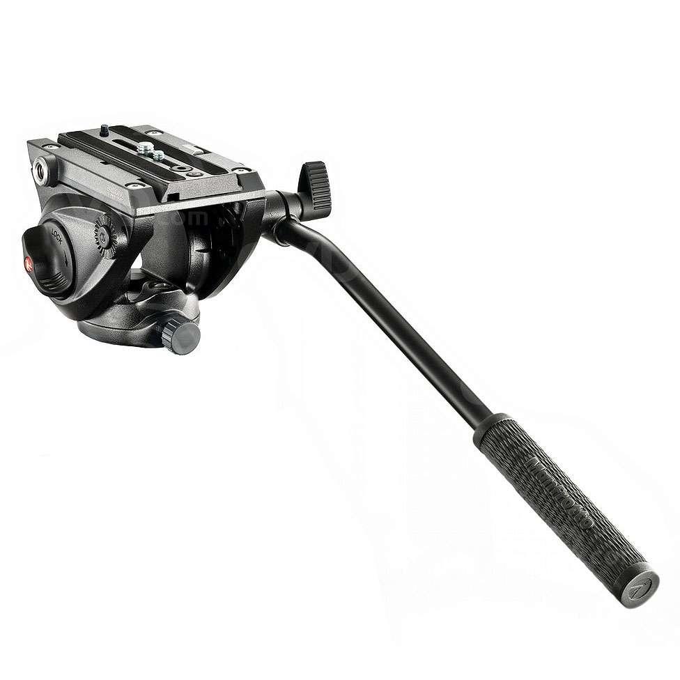 Manfrotto MVH500AH (MVH500AH) Lightweight Fluid Video Head Flat Base (5KG