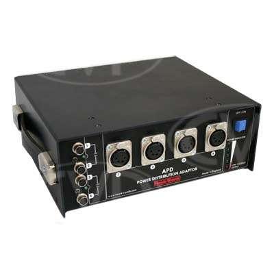 Hawk-Woods APD Audio Power Distribution Box - 6NP1 slots /4