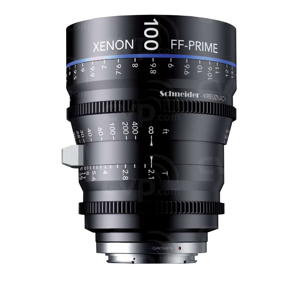 Schneider Xenon 100mm T2.1 FF Prime Lens - PL (FT)