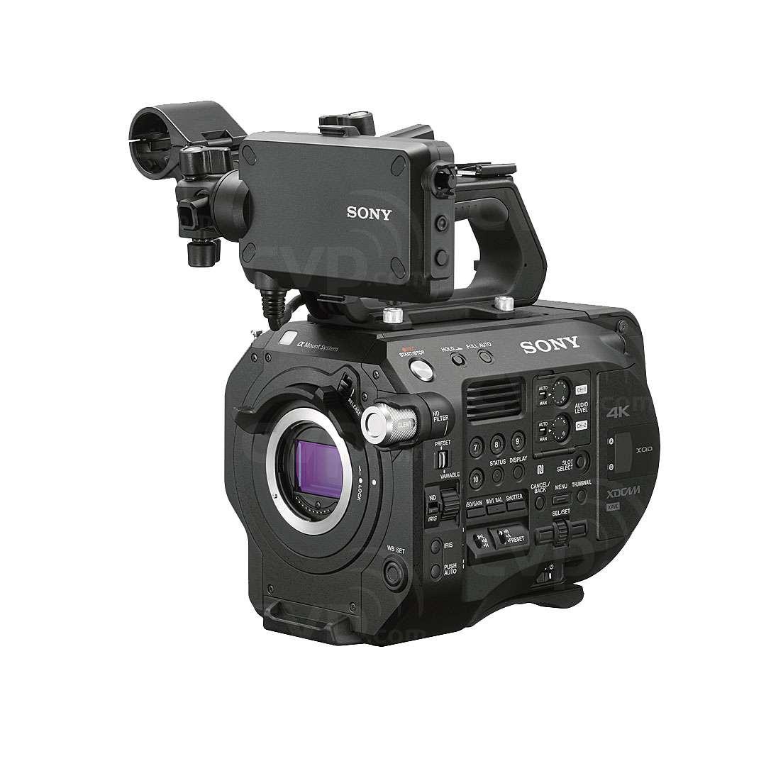 Sony PXW-FS7M2 (PXWFS7M2) FS7 II 4K Super 35mm CMOS Sensor Camera with an E-mount Lens Mount