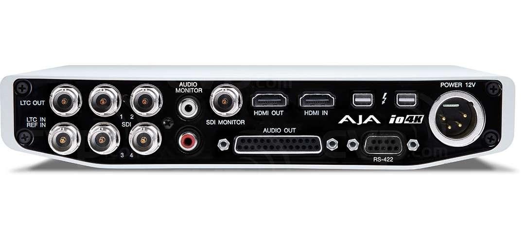 AJA Io 4K with Thunderbolt 2