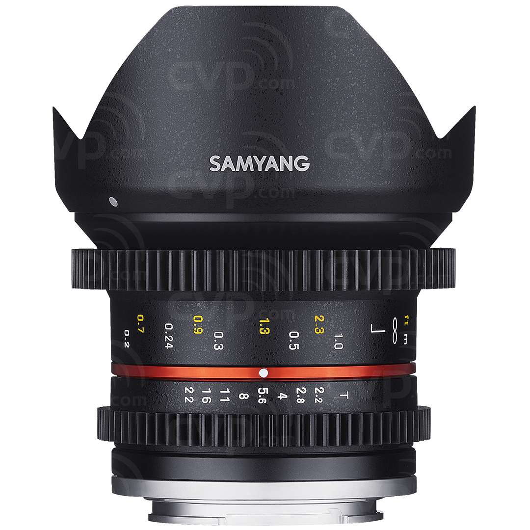 Samyang 12mm T2.2R NCS CS Wide Angle Cine Lens for Mirrorless cameras - Micro Four Thirds (7793)