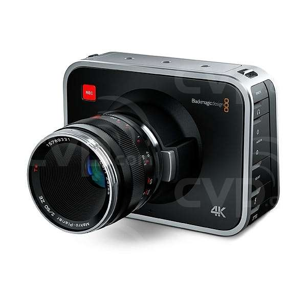 Blackmagic Design 4K Super 35mm Production Cinema Camera EF Mount - Body Only