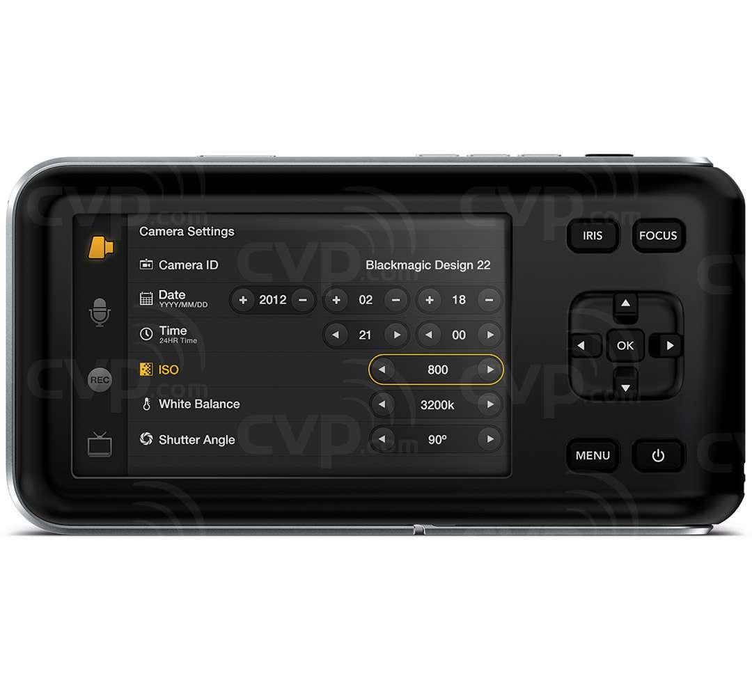 Blackmagic Design Pocket Cinema Camera mFT (Micro Four Thirds) Mount