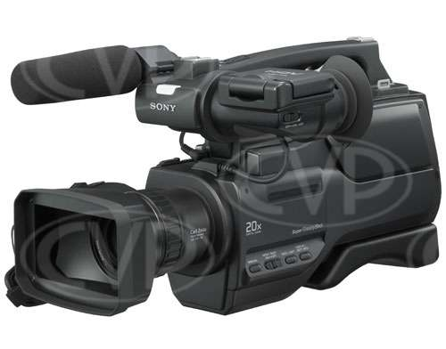 HVR HD-1000E 1080i HDV Camcorder - front lhs view