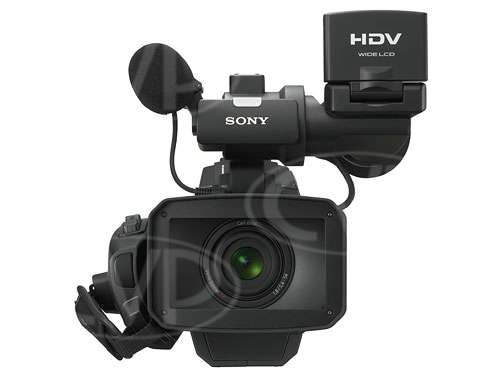 HVR HD-1000E 1080i HDV Camcorder - front view