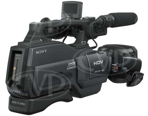 HVR HD-1000E 1080i HDV Camcorder - rear rhs view