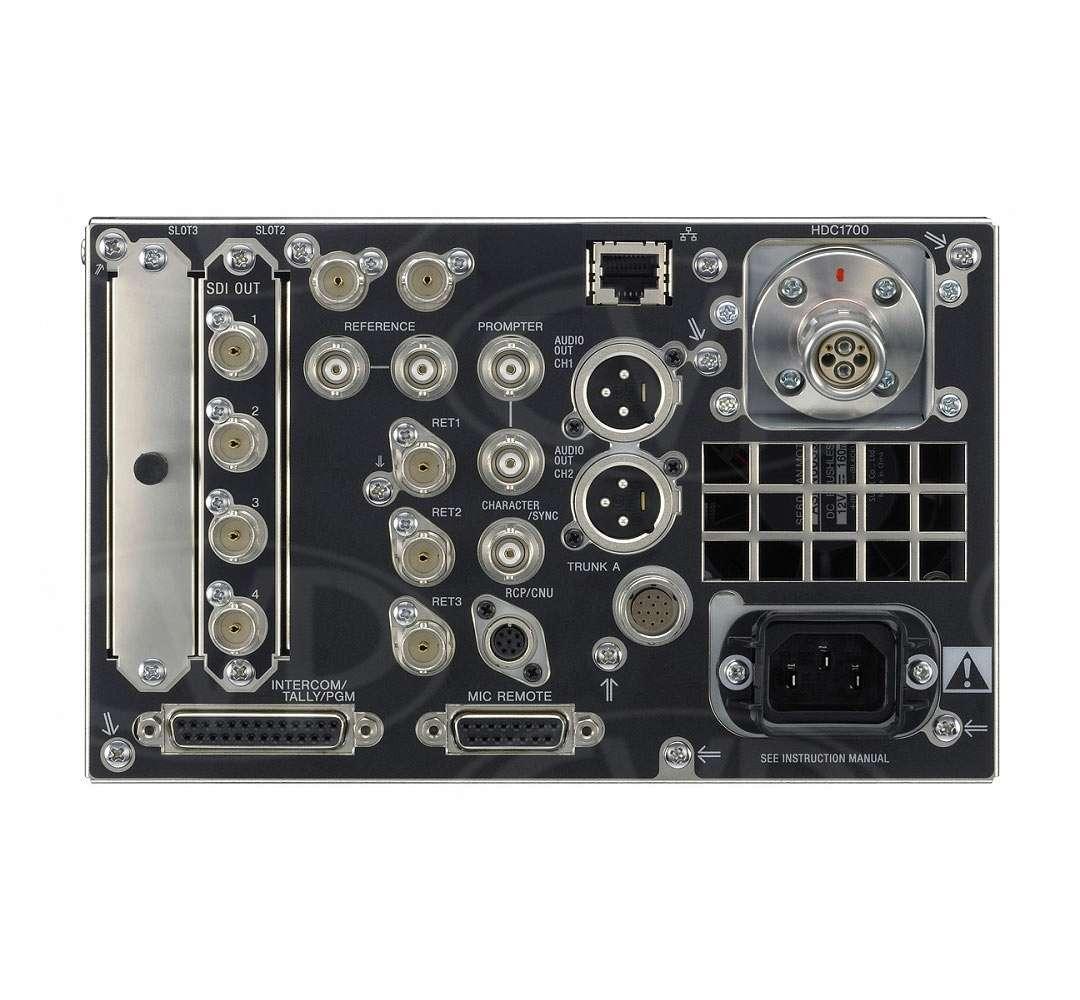 buy sony hdcu 1700 hdcu1700 half 19 inch rack size camera sony
