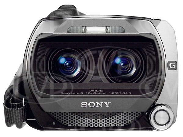 Sony HDR-TD10 (HDRTD10) Full HD 3D consumer camcorder