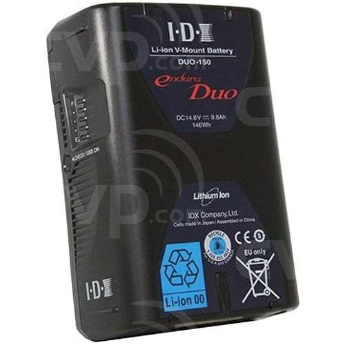 IDX DUO-150 (DUO150) 14.8V 146Wh High Load Sony V-Mount Rechargeable