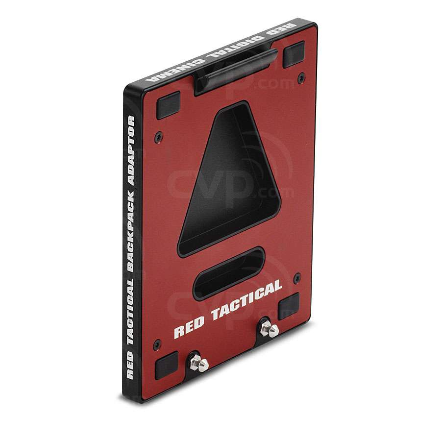 RED Backpack Adaptor Plate for mounting Backpack Base Plate, Cheeseplate,