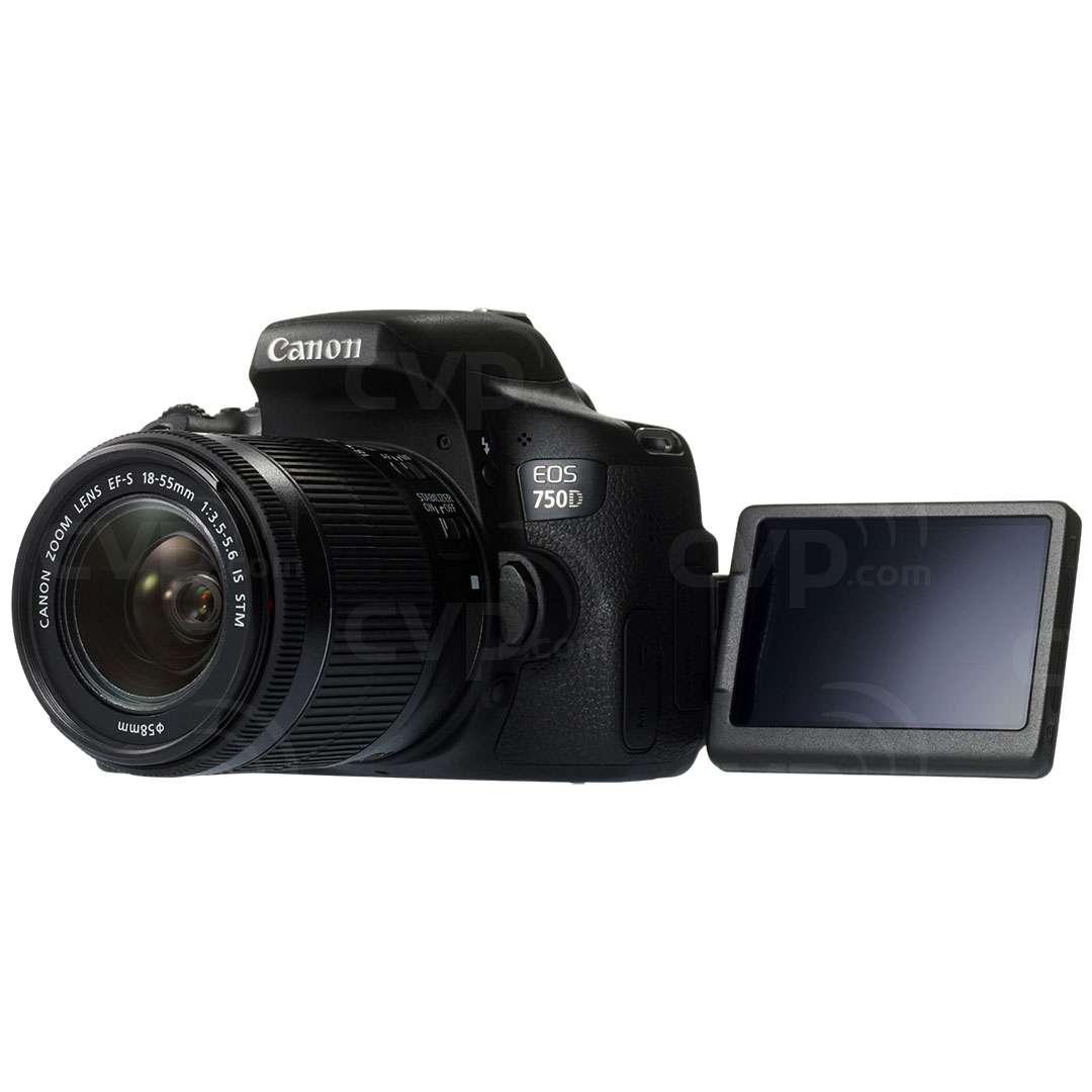 Canon EOS 750D 24.2 Megapixel APS-C Digital SLR Camera with