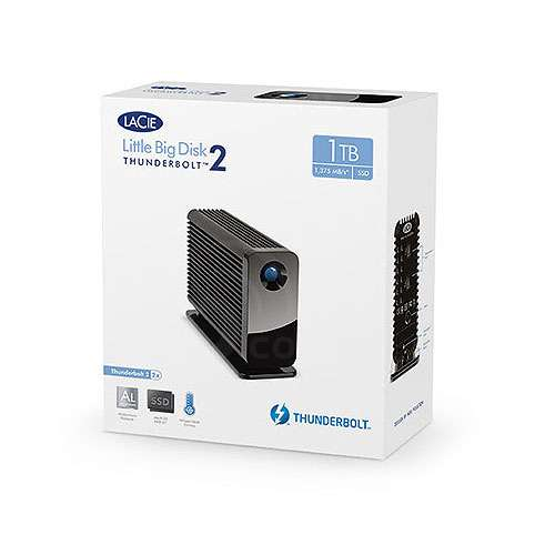 Lacie Little Big Disk Thunderbolt2 Mobile External Hard Drive -
