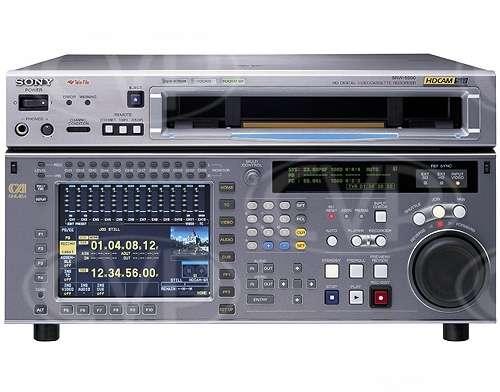 Sony SRW-5500 (SRW5500) HDCAM SR VTR front view