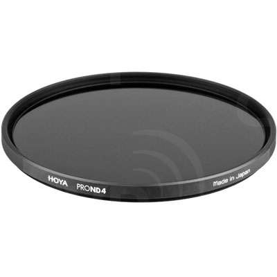 Hoya 67mm Pro ND 4 Filter (0905) with low-profile aluminium