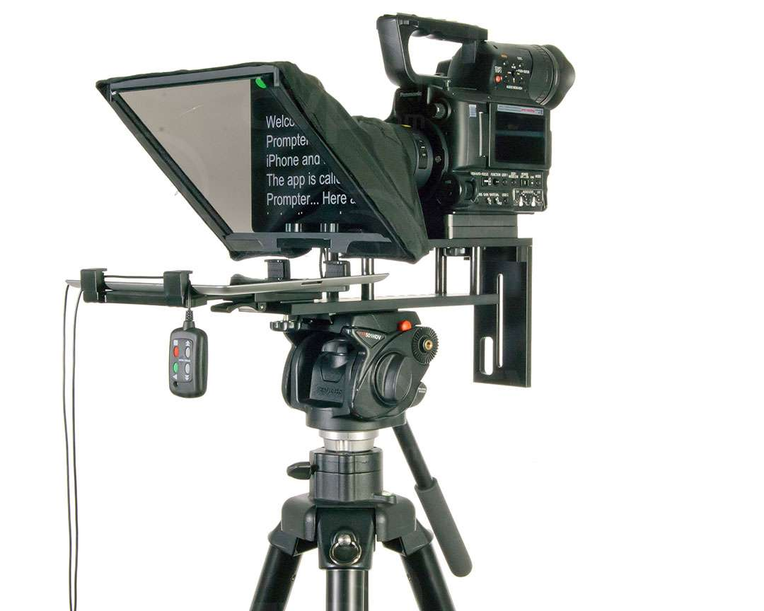 Datavideo DATA-TP300BB (DATATP300BB) TP-300 Teleprompter for Apple/Android Tablets (remote not