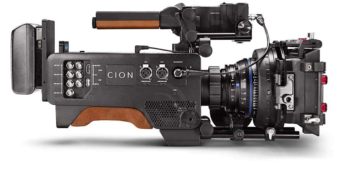 AJA CION 4K production camera Apple ProRes 422 and 444