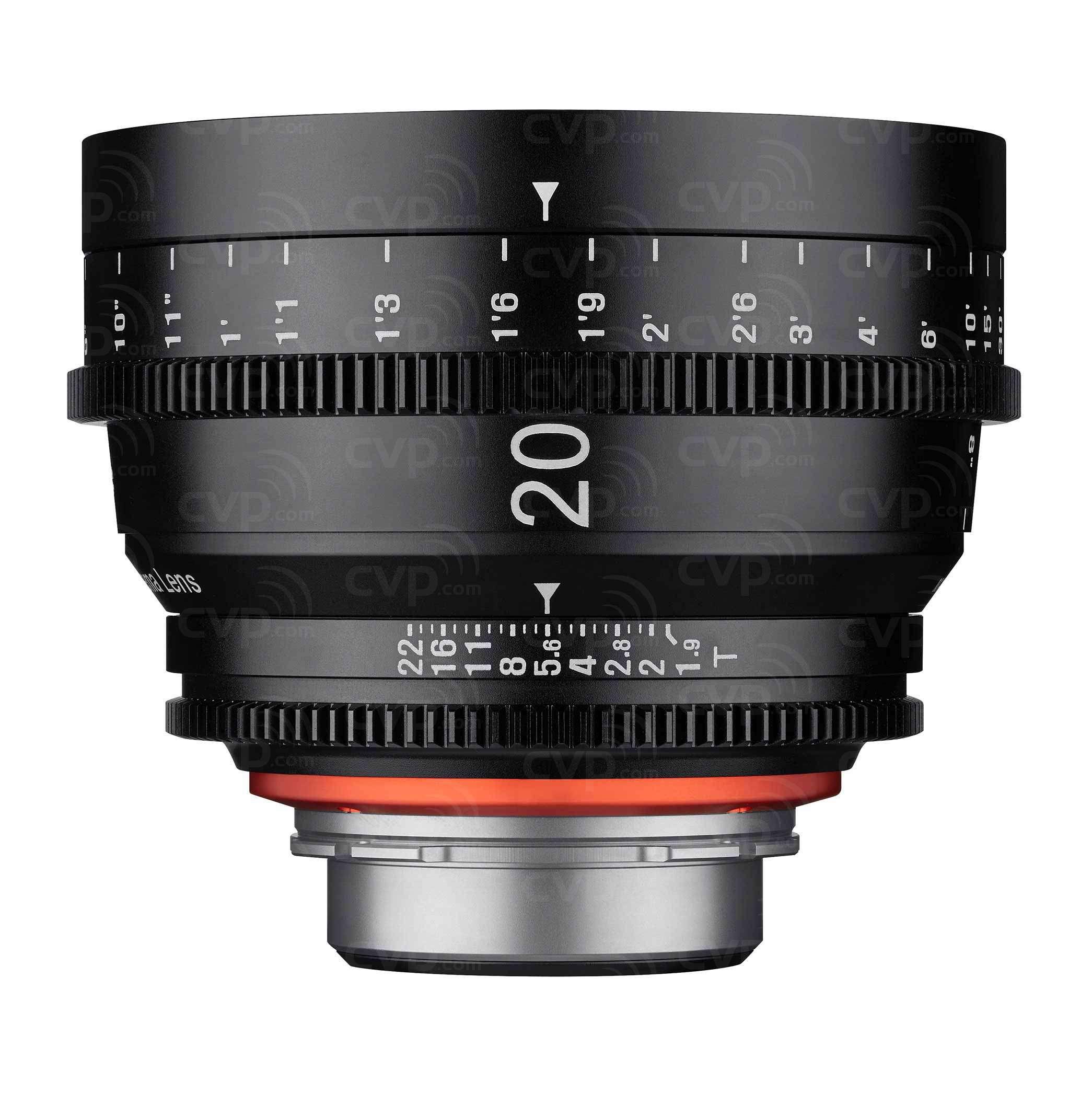 Samyang XEEN 20mm T1.9 Cine - Sony E