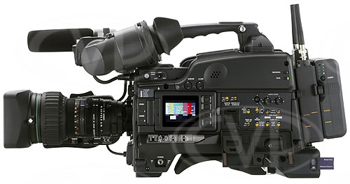 Sony DSR-450WSPL side view