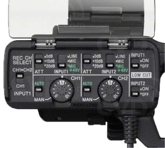 Sony XLR-K1M (XLRK1M) XLR Adapter Kit (XLRK1M.CE)