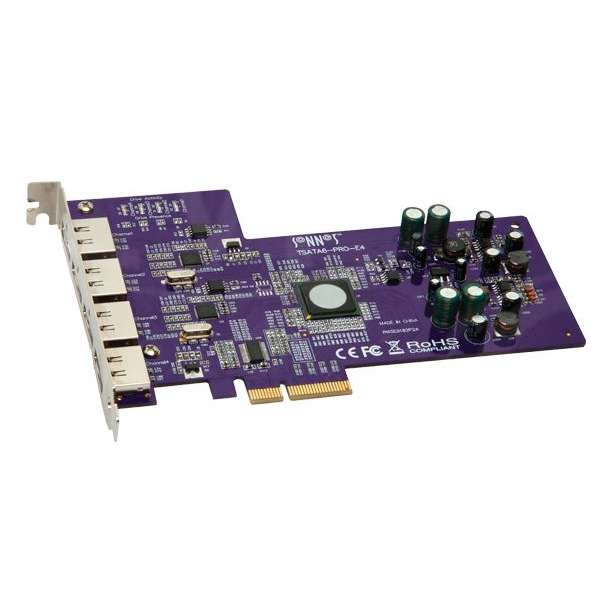 Sonnet SON-TSATA6-PRO-E4 (SONTSATA6PROE4) Tempo SATA Pro 6Gb 4-Port PCIe Card