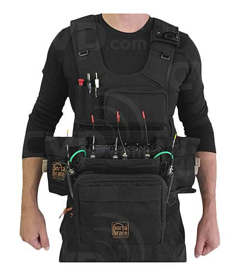 PortaBrace ATV-688 (ATV688) Audio Tactical Vest Compatible with the Sound Devices 688 Mixer/Recorder