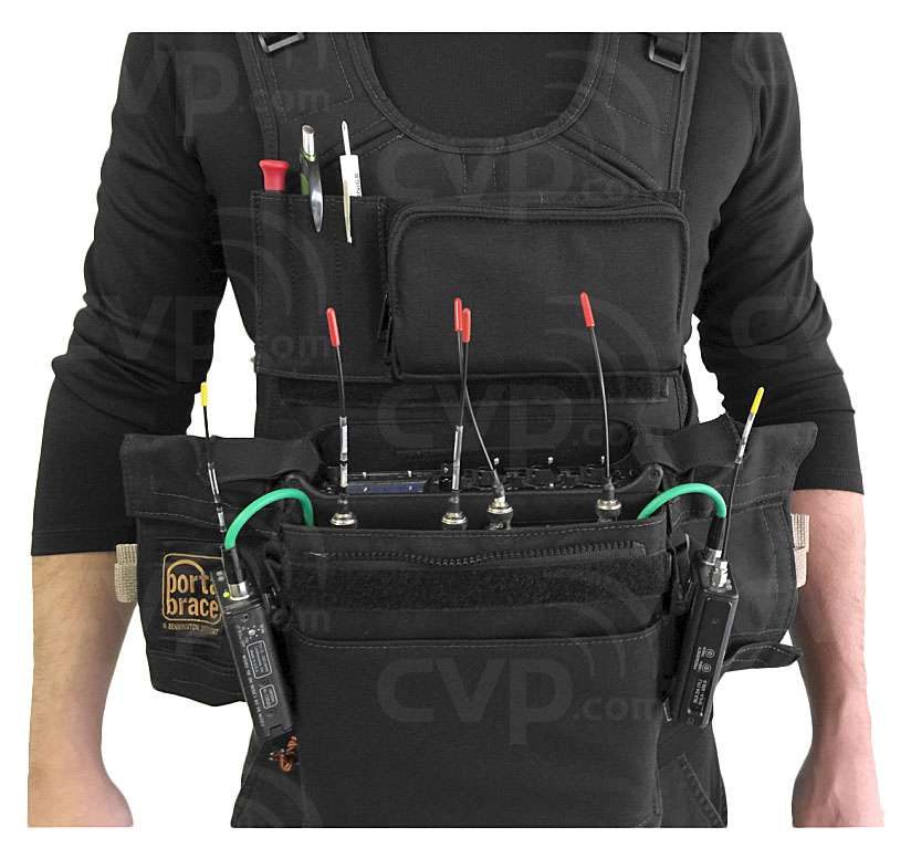 Portabrace ATV-MAXX (ATVMAXX) Audio Tactical Vest for the Zaxcom Maxx