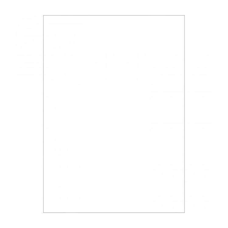 Westcott 577 5ft x 7ft Solid White X-Drop Backdrop (870209)