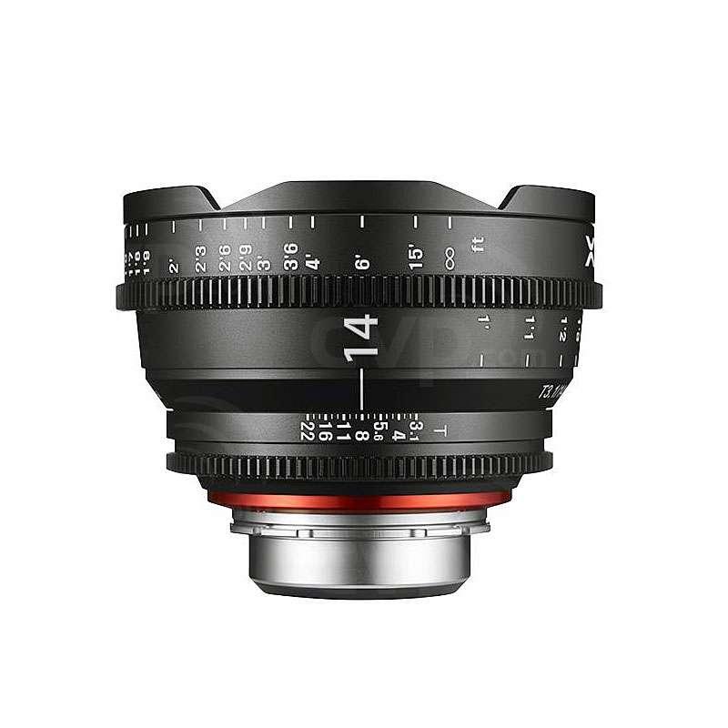 Samyang XEEN 14mm T3.1 Cine Lens Canon EF Mount (7972)