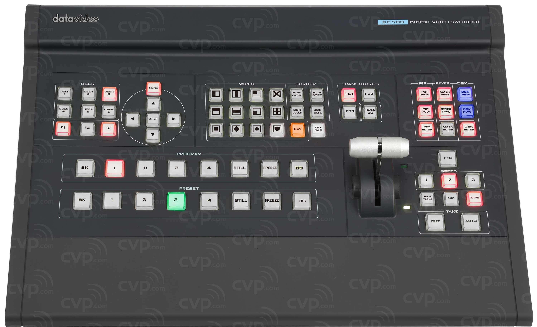 Datavideo DATA-SE700 (DATASE700) SE-700 4 Channel HD Vision Mixer