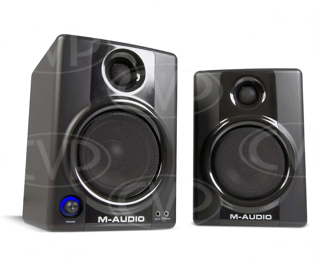 M-Audio Studiophile AV 40 Version II Monitor Speakers for Professional
