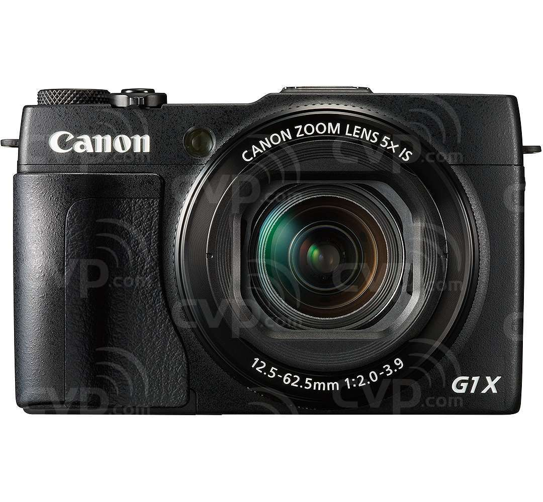 Canon PowerShot G1 X Mark II (Enhanced Grip Edition) 12.8MP Digital Compact Camera with Full HD Video Recording and a 5x Zoom, Wide Angle Lens