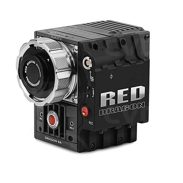 RED SCARLET DRAGON 6K 19MP Digital Cinematography Camera With RED
