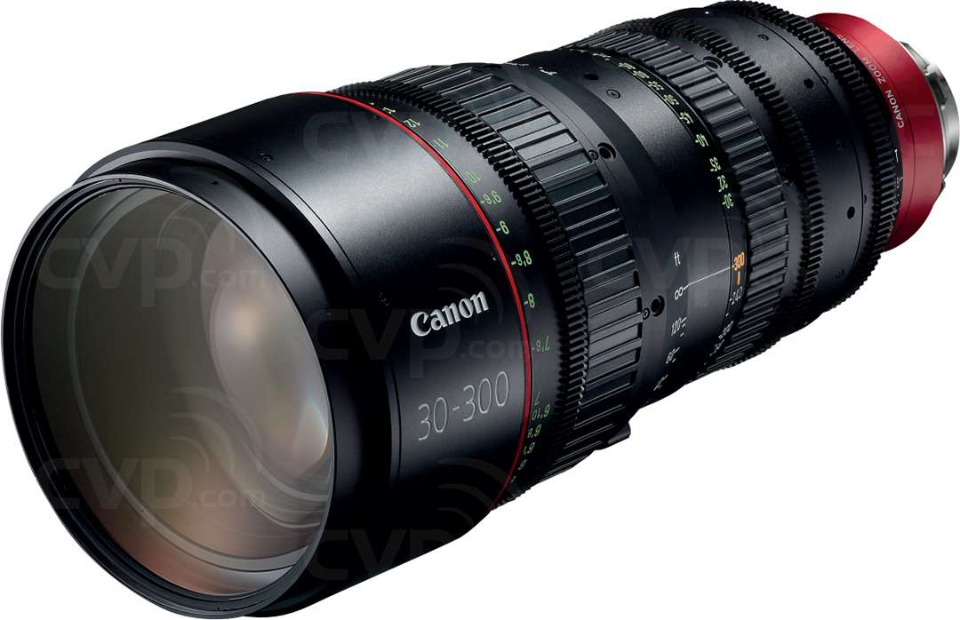 Canon 4K Cine Telephoto Zoom Lens CN-E30-300mm T2.95-3.7 L SP