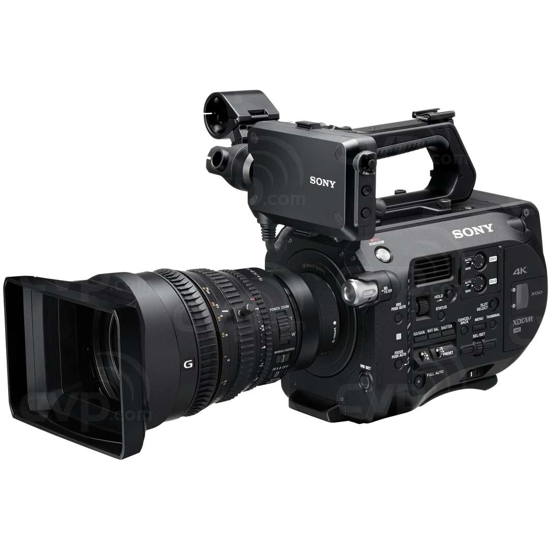 Sony PXW-FS7K (PXWFS7K) 4K Super 35mm Exmor CMOS Sensor XDCAM Camera with a 35mm Full Frame Powered Zoom Lens, an E-mount Lens System, 4K/2K RAW and XAVC Recording