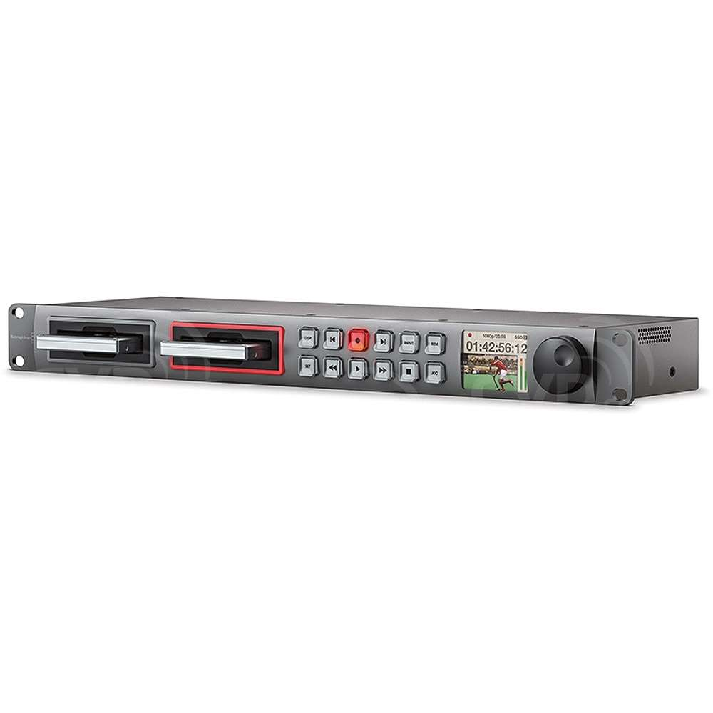Blackmagic Design Hyperdeck Studio Pro 2, Advanced SSD recorder with